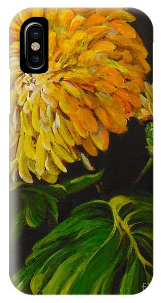 IPhone Case featuring the painting Fall by Saundra Johnson