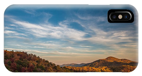 Fall Skies IPhone Case