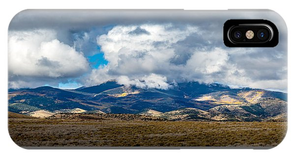 Fall Storm Clearing Off Pintada Mountain IPhone Case
