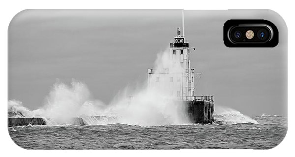 IPhone Case featuring the photograph Fall Storm II by Paul Schultz