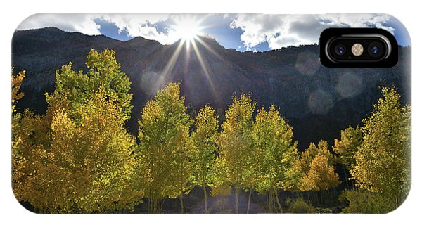 Fall Sun Setting Over Mt. Charleston IPhone Case