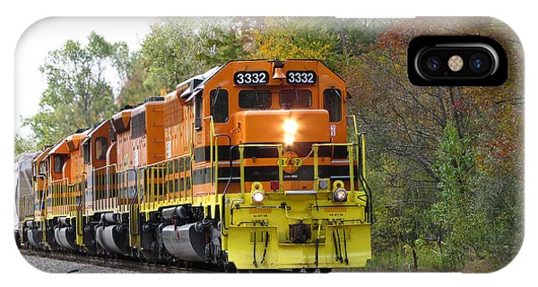Fall Train In Color IPhone Case