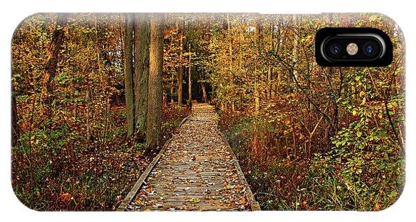 Fall Walk IPhone Case