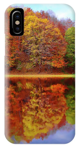 Fall Waters IPhone Case