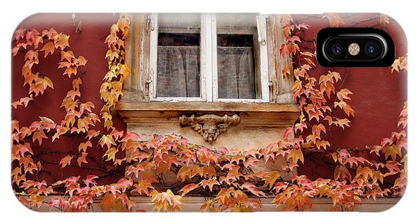 Fall Window,prague IPhone Case