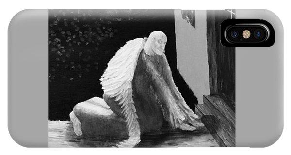 Fallen Angel Noir  IPhone Case