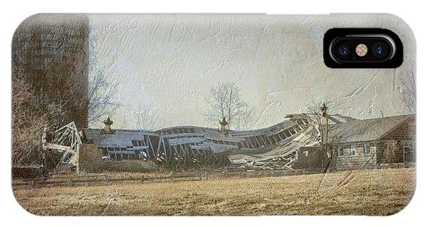 Fallen Barn  IPhone Case