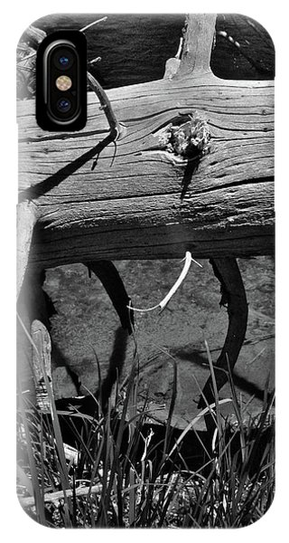 IPhone Case featuring the photograph Fallen Spruce by Ron Cline