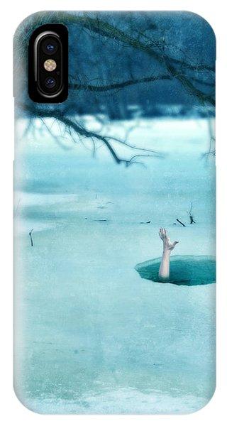 Fallen Through The Ice IPhone Case