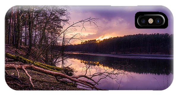 Fallen To The Setting Sun IPhone Case