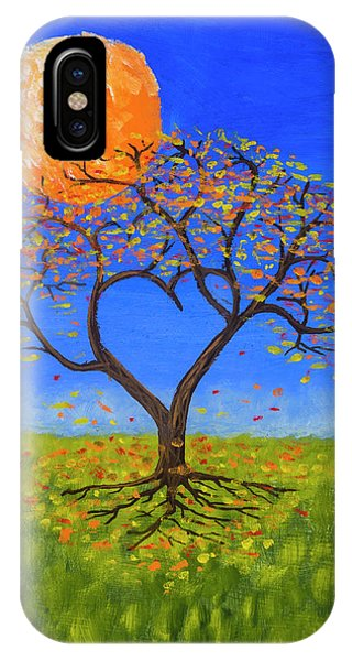 Orange Color iPhone Case - Falling For You by Jerry McElroy