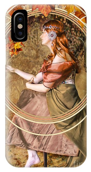 Fall iPhone Case - Falling Leaves by John Edwards