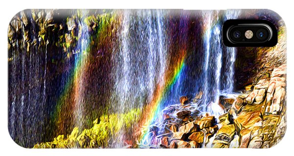 Falling Rainbows IPhone Case