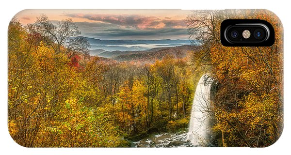 Falling Spring Falls IPhone Case