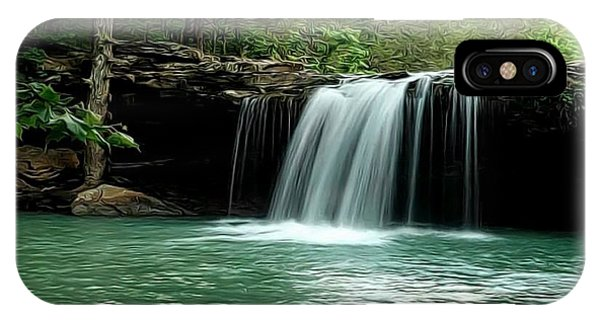 Falling Water Falls IPhone Case