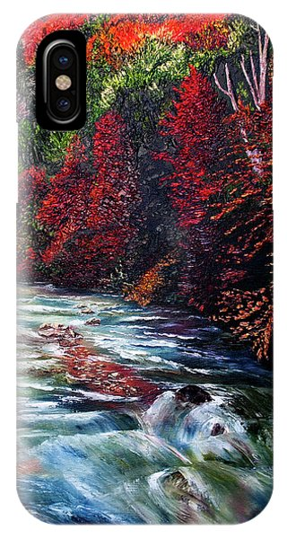Falling Waters IPhone Case