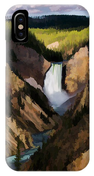 Fall Colors iPhone Case - Falling Yellowstone  Iv by Jon Glaser