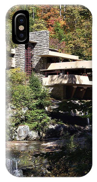 Fallingwater By Frank Lloyd Wright IPhone Case