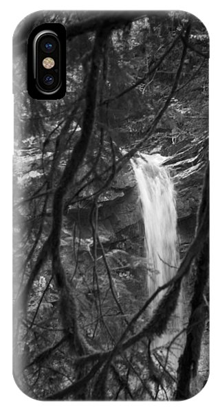 Falls At Gorge Du Chauderon IPhone Case