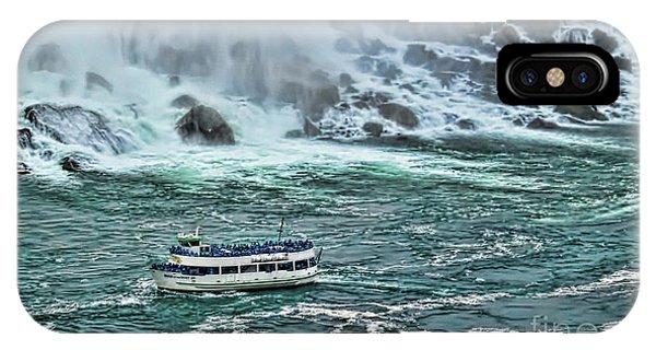 Falls Boat IPhone Case