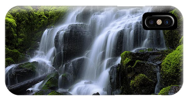 Creek iPhone Case - Falls by Chad Dutson