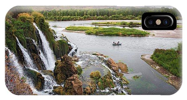 Falls Creak Falls And Snake River IPhone Case