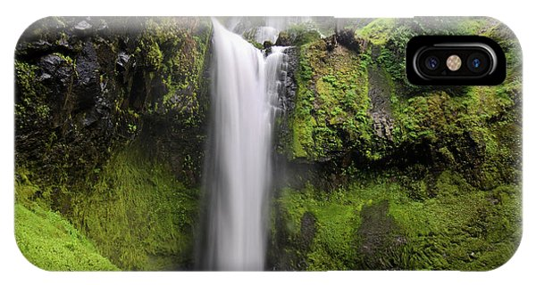 Falls Creek Falls In Washington  IPhone Case