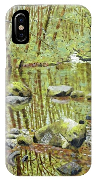 iPhone Case - Falls Creek Pool by Andrea Benson