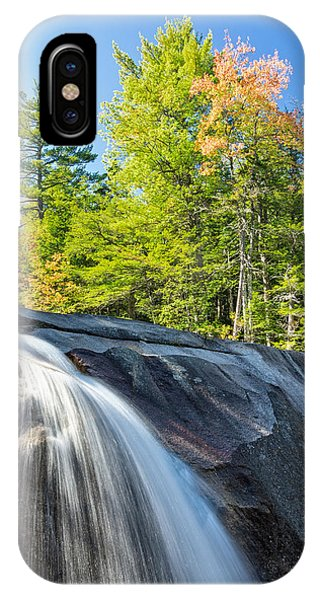 Falls Diana's Baths Nh IPhone Case