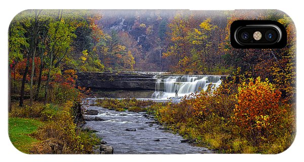 Falls Fishing IPhone Case