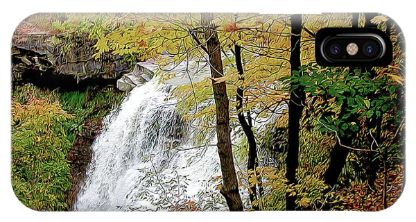 Falls In Autumn IPhone Case