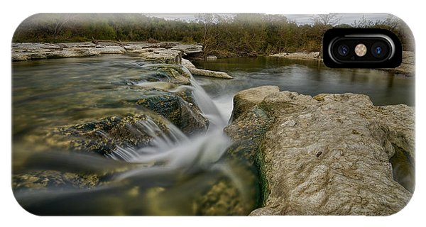 Texas Hill Country Falls IPhone Case
