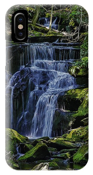 Falls In Vermont Mountain Stream  IPhone Case
