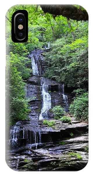 Falls Near Bryson City IPhone Case