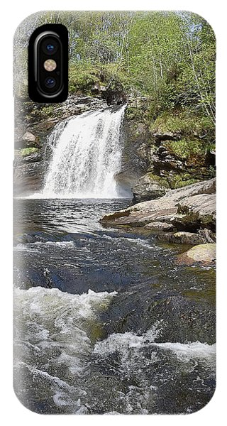 Falls Of Falloch IPhone Case
