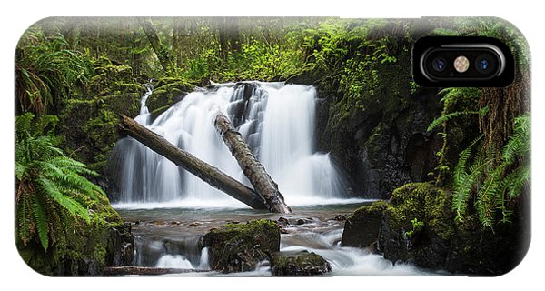 Falls On Canyon Creek IPhone Case