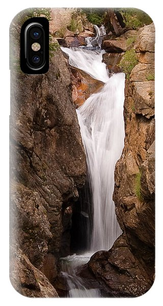 Falls On Falling River IPhone Case