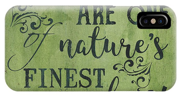 Natural iPhone Case - Families Are... by Debbie DeWitt