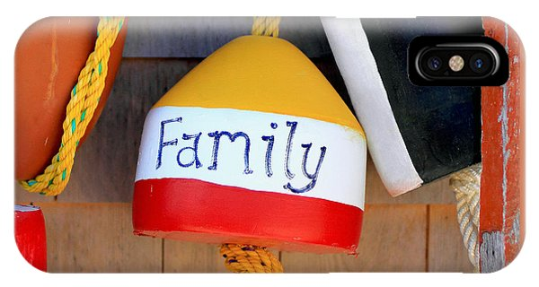 Family Buoy IPhone Case