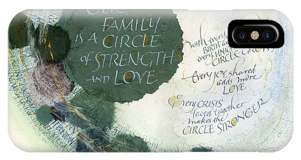 Family Circle IPhone Case