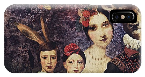 Family Portrait IPhone Case