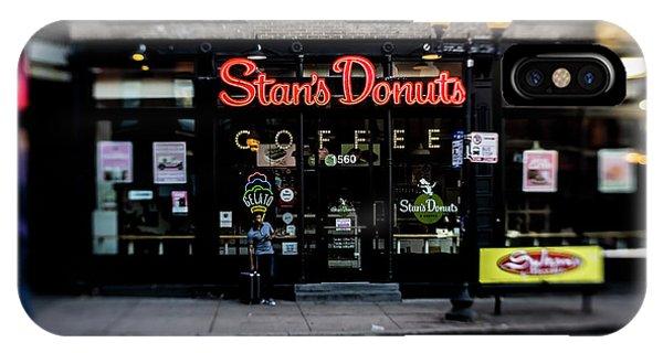 Famous Chicago Donut Shop IPhone Case