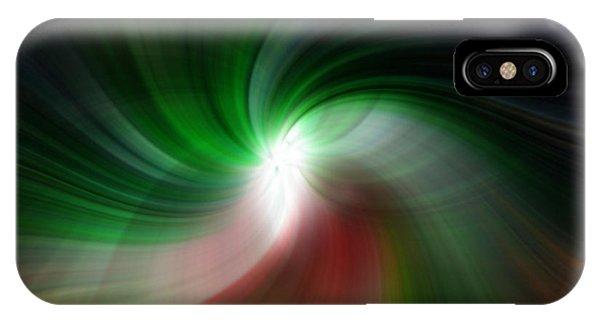 Fan Twirl IPhone Case