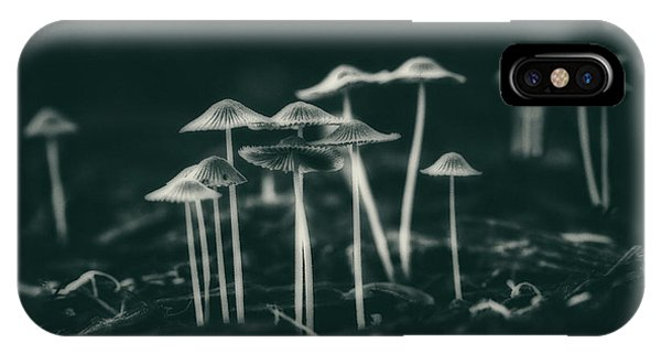 Growth iPhone Case - Fanciful Fungus by Tom Mc Nemar