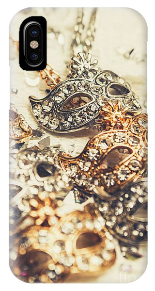 Jewelery iPhone Case - Fancy Dress Timepieces by Jorgo Photography - Wall Art Gallery