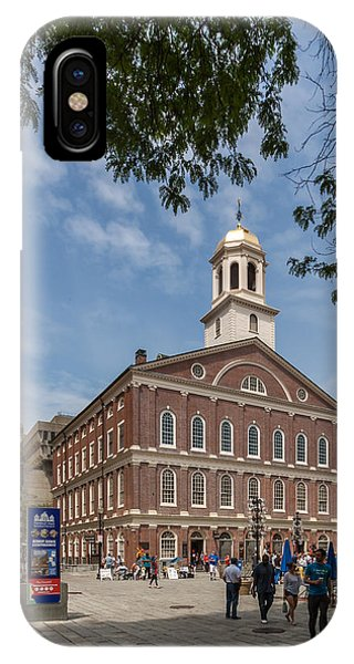 Faneuil Hall Boston IPhone Case