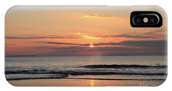Fanore Sunset 3 IPhone Case