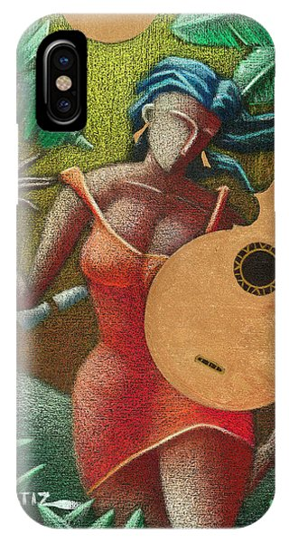 Fantasia Boricua IPhone Case
