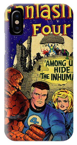 iPhone Case - Fantastic Four Comic Cover by David Lee Thompson