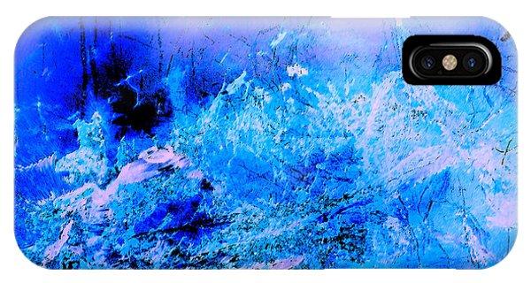 Fantasy Blue Artwork IPhone Case